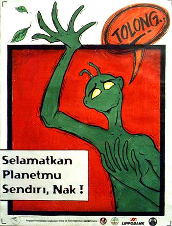 Poster Lingkungan Hidup by k4rna