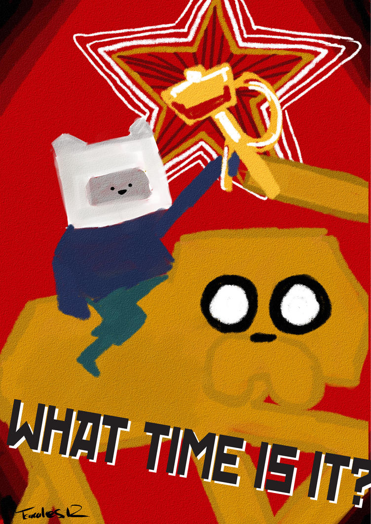 Russian Adventure Time by FlairCube on DeviantArt