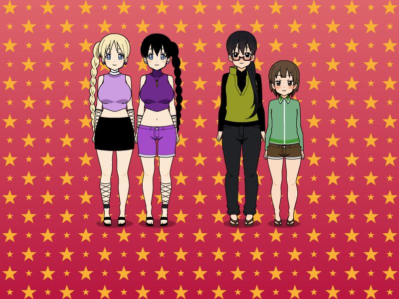 Nara family (Shikamaru...
