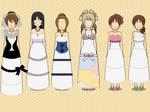 kisekae: wedding dress