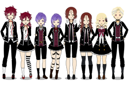 Diabolik lovers by Blue-marin