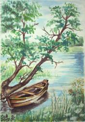 Masuria 19 - boat by czarownicazbagien