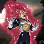 Vegeta - Super Saiyan God
