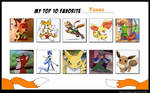 My Top 10 Favourite Foxes