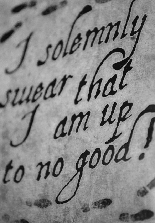 i solemnly swear.. by jeanbeanxoxo