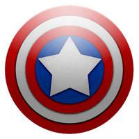 Captain America Shield by MJ-lim