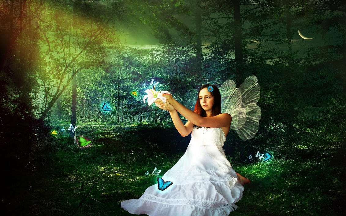 White Fairy Angel By Roup14 On Deviantart