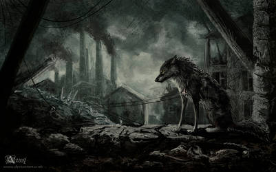 A world where there is no place for the wolves