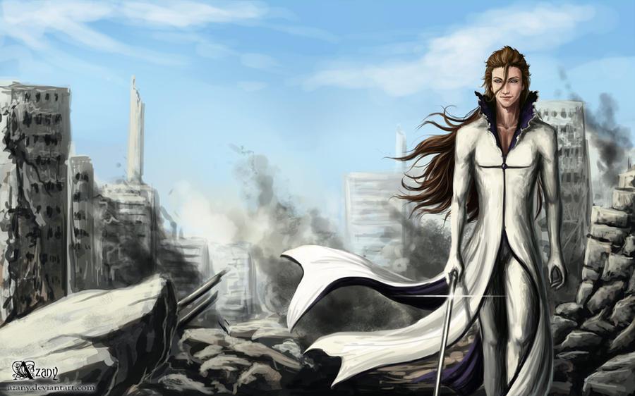 Bleach Aizen Sousuke By Azany On Deviantart