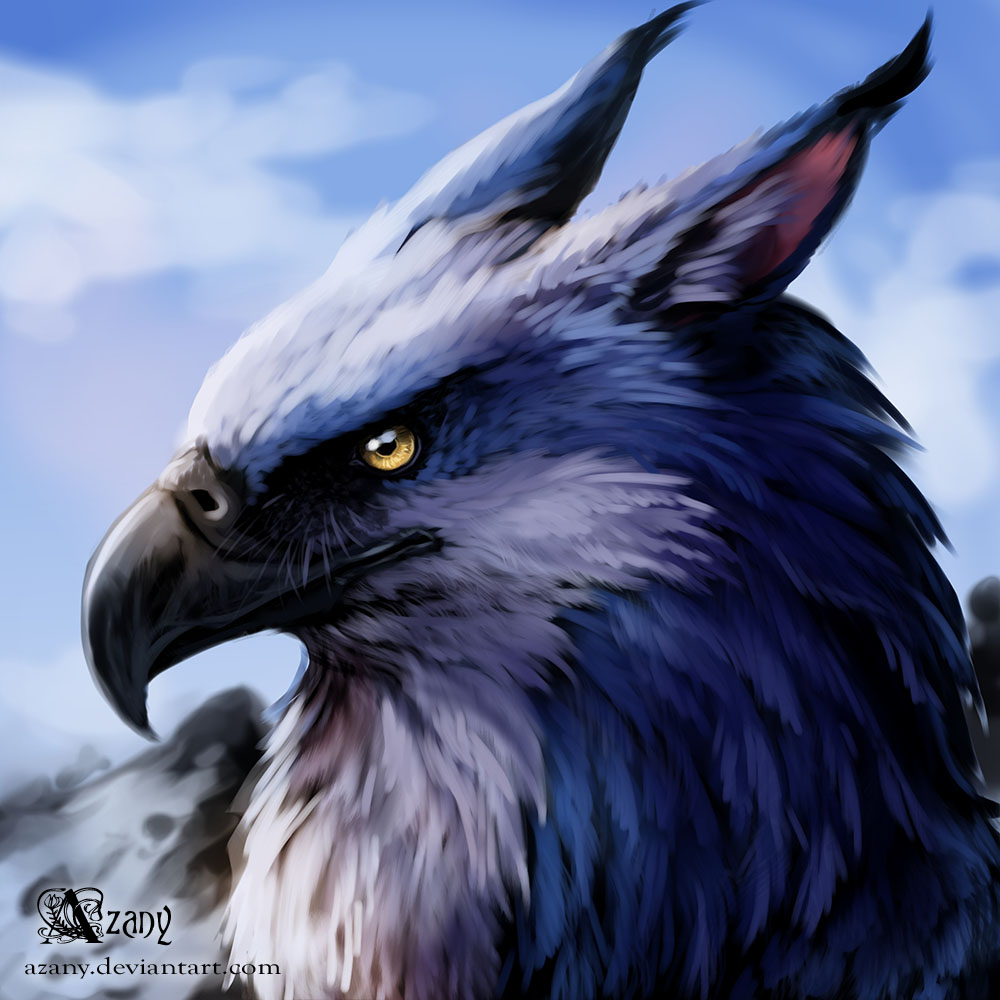 Commission legionaire griffin by azany on deviantart for The griffin