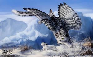 Winter hunter by Azany