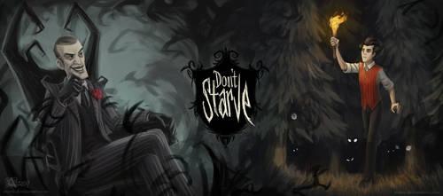 Don't Starve Illustration by Azany
