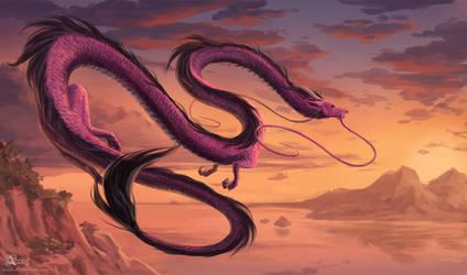Ametist dragon