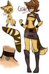 Miraculous Ladybug OC: Cecilla Villanueva