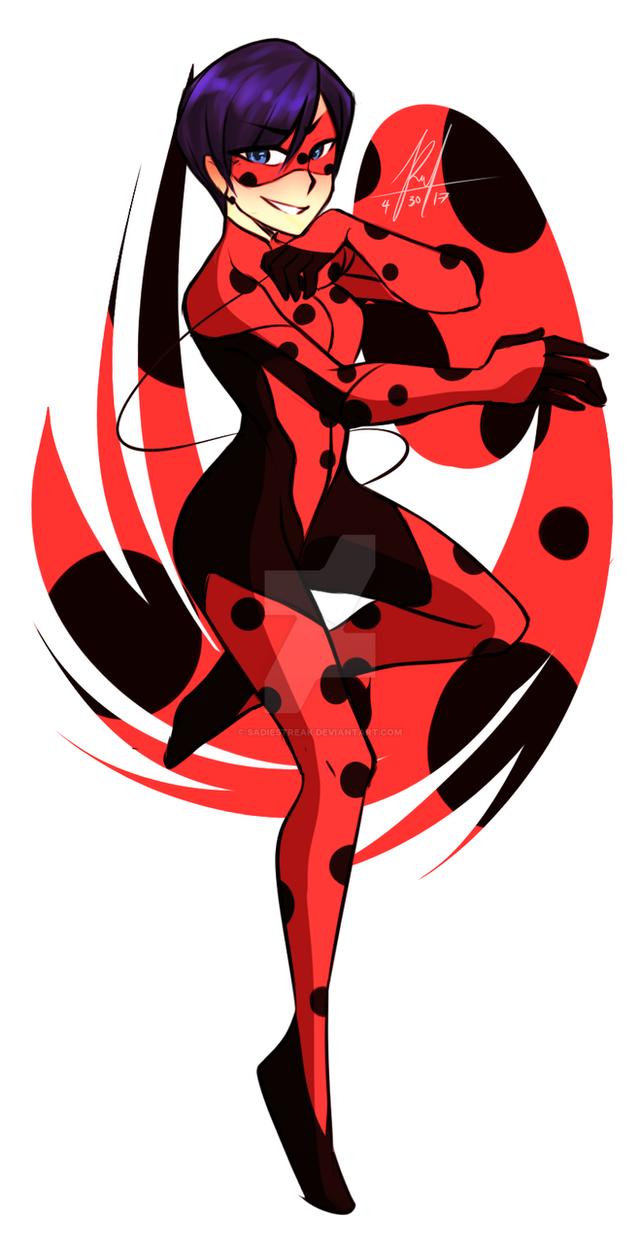 Lady bug adult
