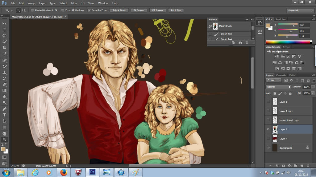 Lestat Repaint WIP by the-infamous-padfoot