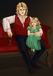 Lestat And Claudia by the-infamous-padfoot