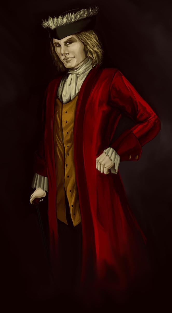 Lestat Portrait by the-infamous-padfoot