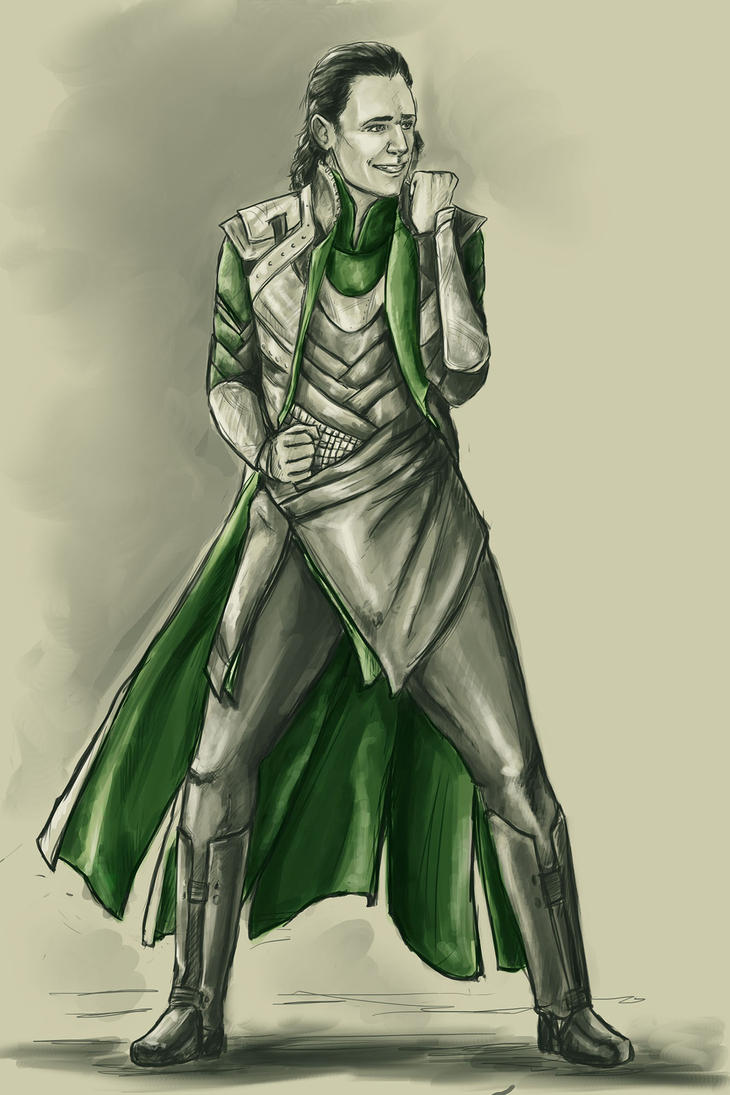 Asguardian dance party, Loki by the-infamous-padfoot