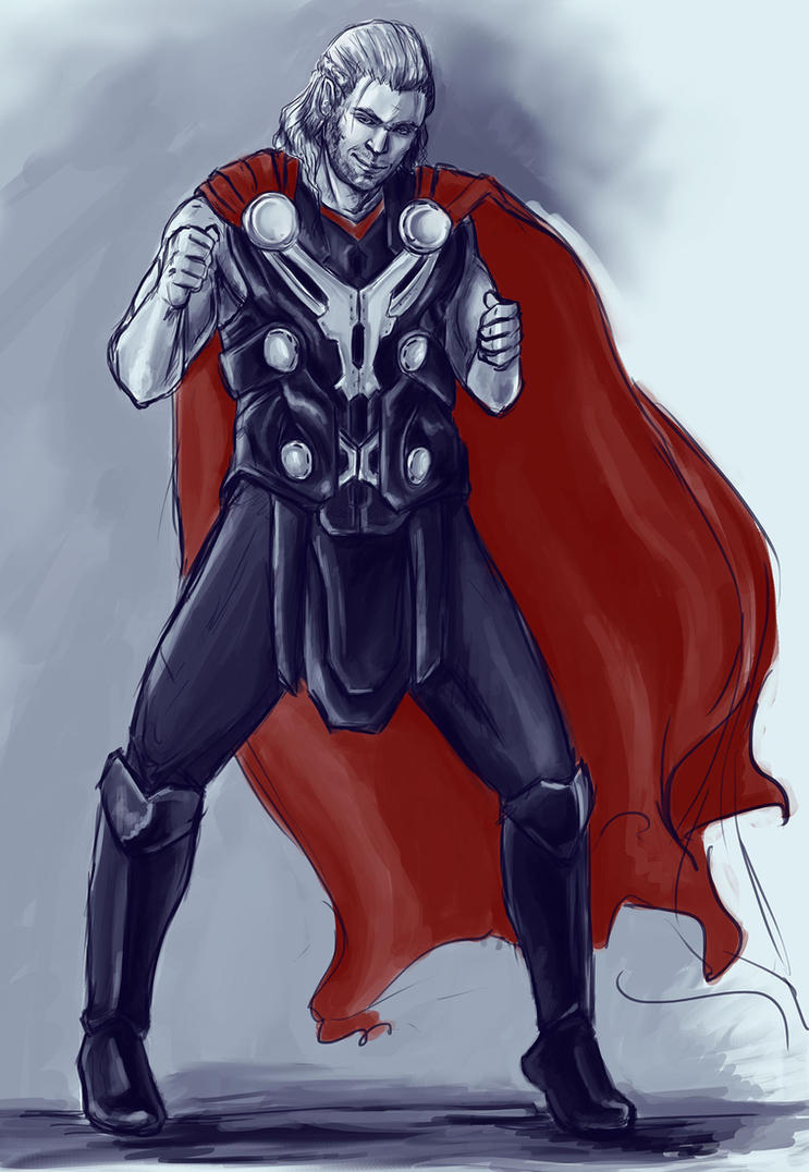 Asguardian dance party, Thor by the-infamous-padfoot