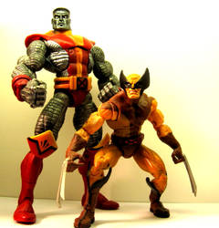 Colossus and Wolverine by yume-ninja