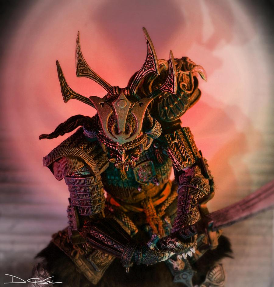 Scorpion Assassin red by yume-ninja