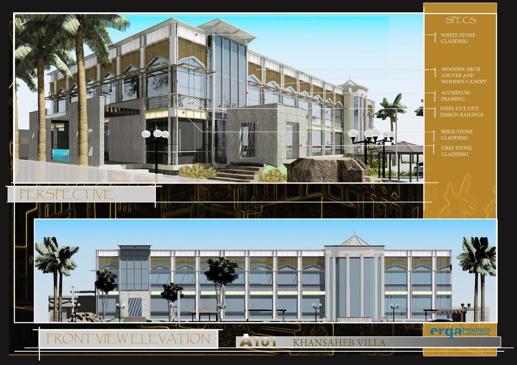 Architectural Presentation 3 By Arkiden124 On Deviantart