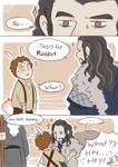 Thorin and Bilbo first meet