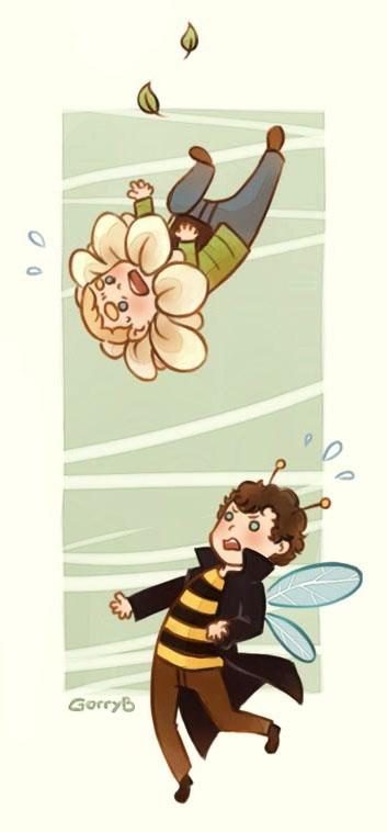 I'll catch you, John! by GorryBear