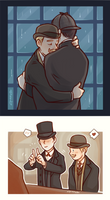 Sherlockspecial - We are together by Gorryb