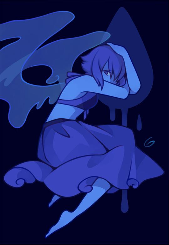 my blue angel, Lapis Lazuli Tumblr
