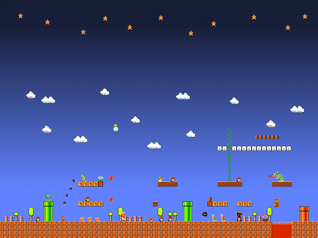 Super Mario Bros Wallpaper By Redterrornmd On Deviantart