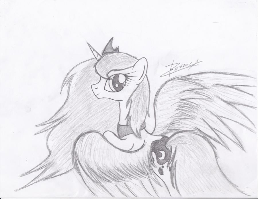 Princess Luna by Xeirla
