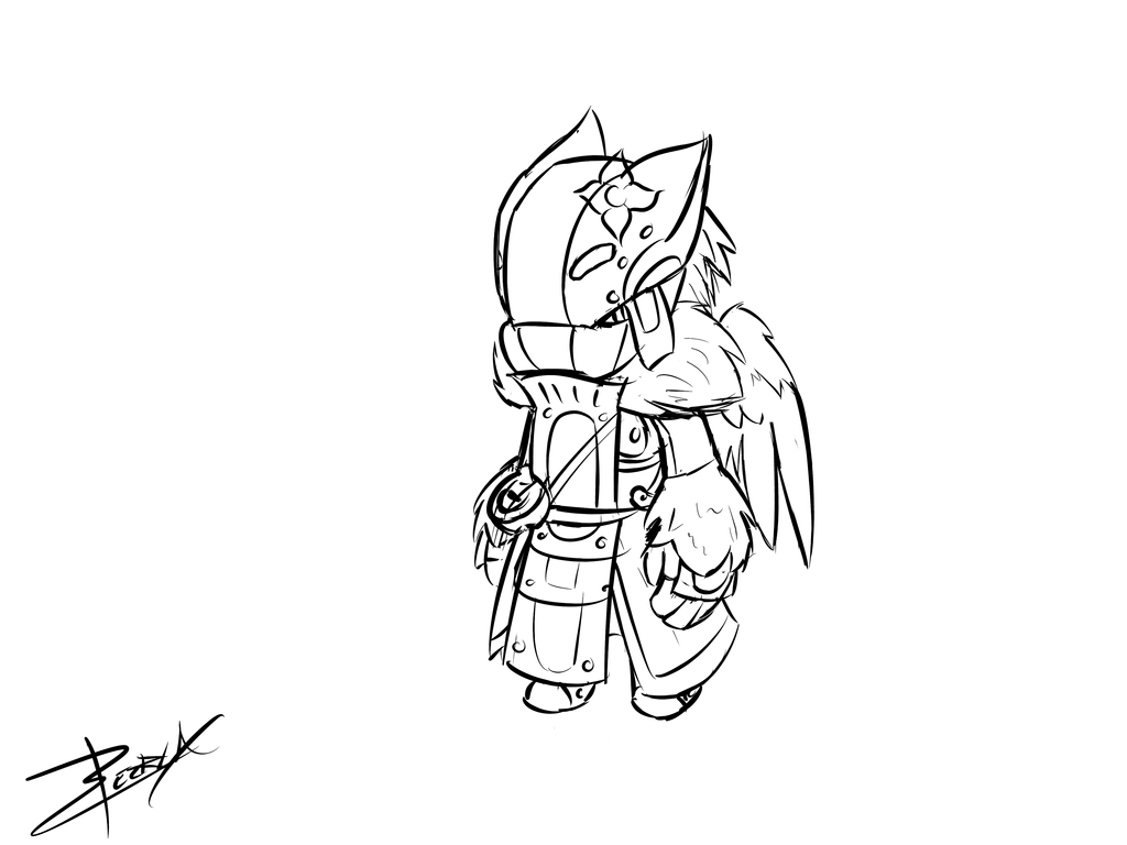 spiral knights xeirla sketch by xeirla on deviantart