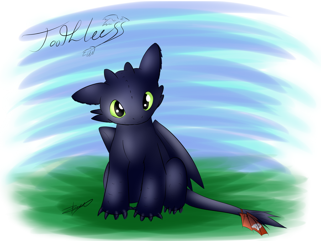Toothless how to train your dragon by xeirla on deviantart
