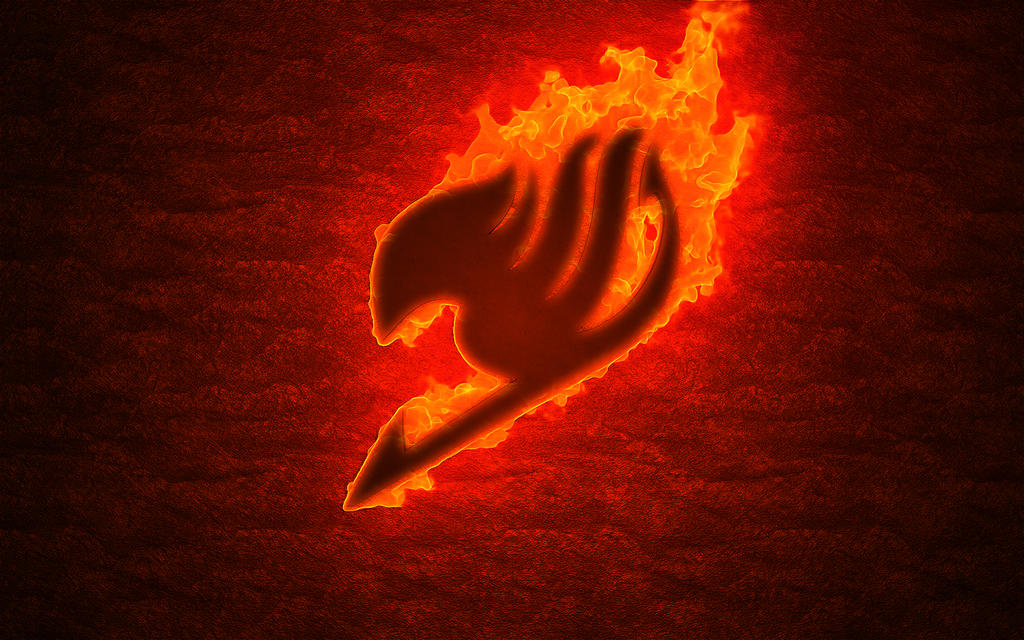 Fairy tail logo fire by bibouille 34 on deviantart - Fairy tail emblem ...