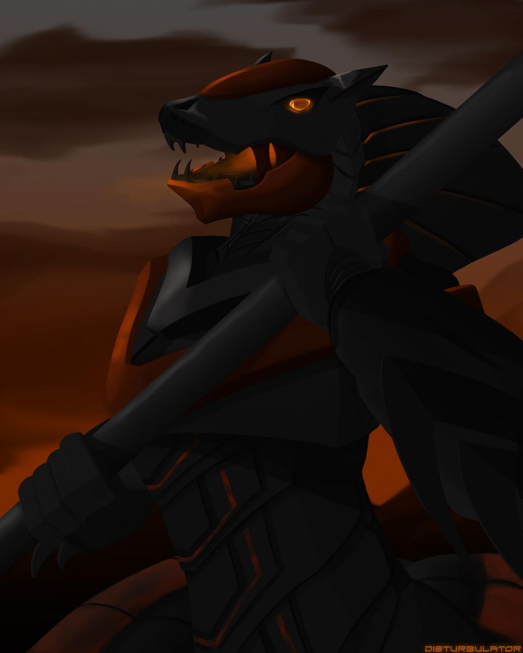 At Sunset by Disturbulator