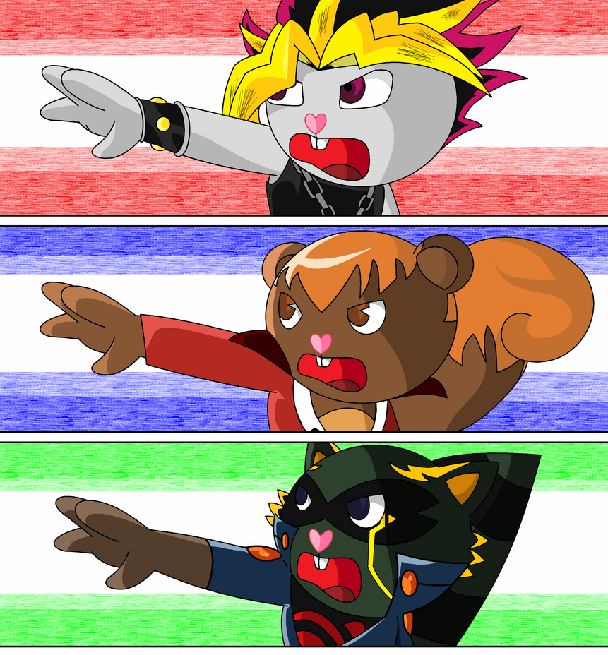 WE'RE YUGIOH!! (Happy Bonds Beyond Friends) by CardGamePhantom