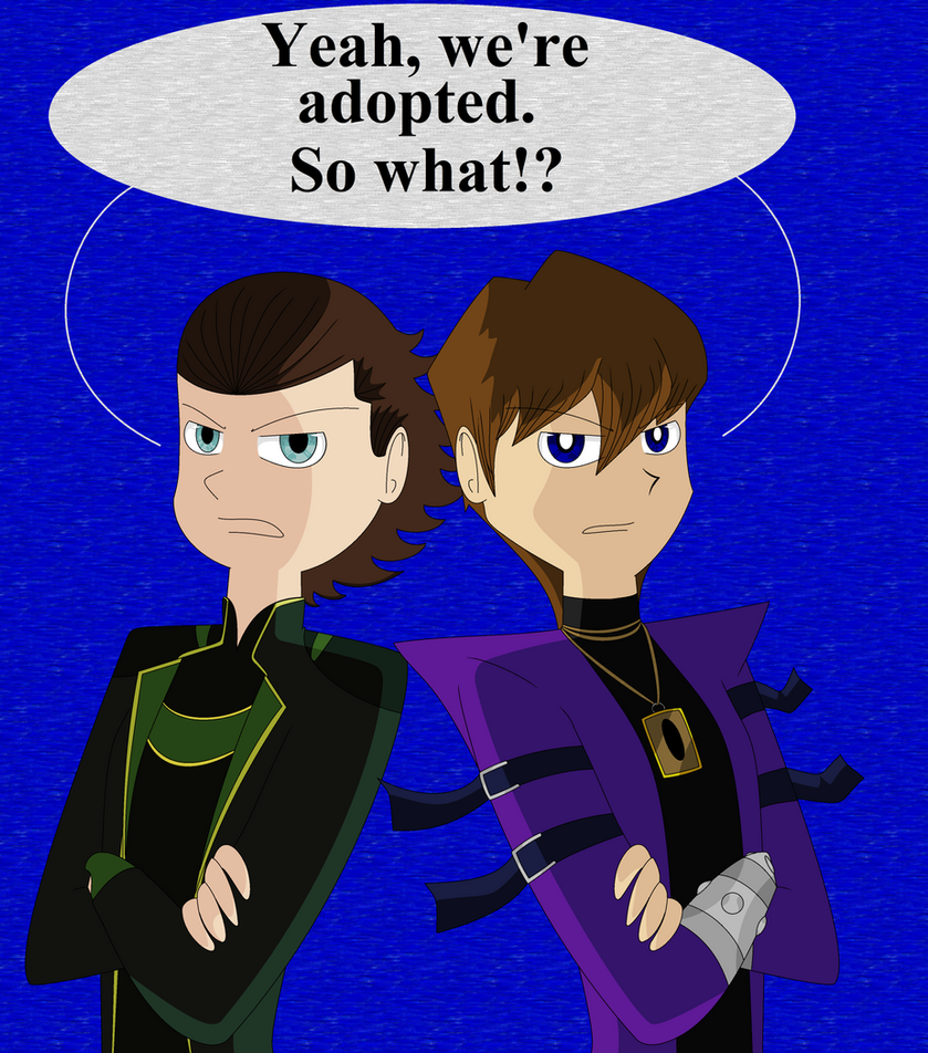 Seto Kaiba And Loki by CardGamePhantom