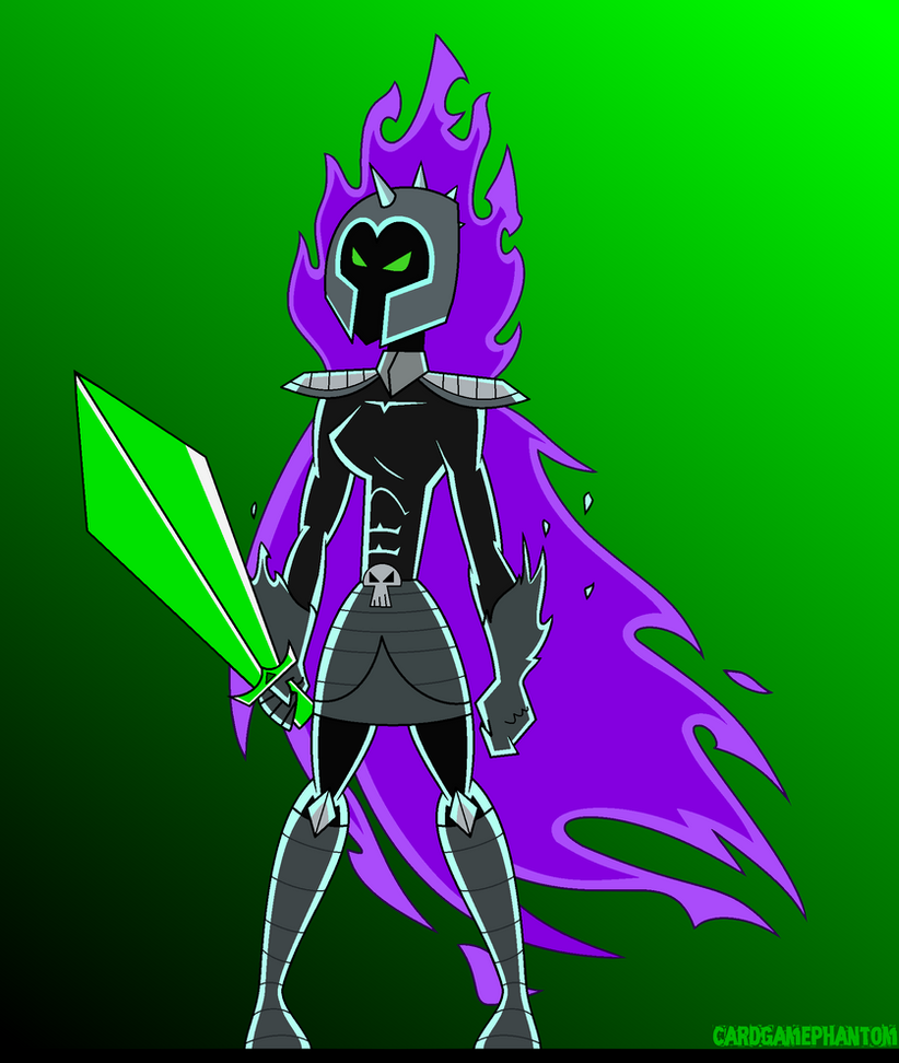 Fright Knight Gender Bent by CardGamePhantom