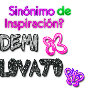 Sinonimo de Inspracion Demi Lovato by EditionsZoeP