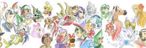 Zelda 25th Sketch Dump