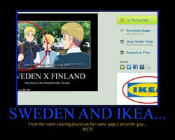 Sweden and IKEA... by Me-is-totaly-awesome