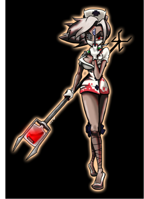 Skullgirls Silent Hill Valentine by Karr420