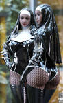 Hightower's Buxom nuns [A man of God]