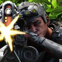 Cadet Hosker [War games]