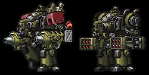 Blazing Metal War Mutt variants by Storm-Werks