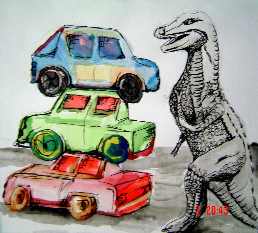 rawr-asaurus by smellybunnies