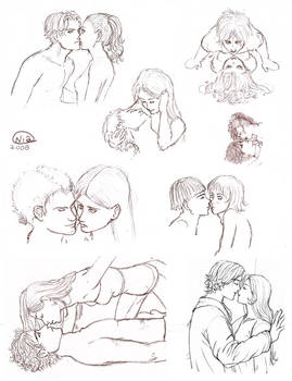 Kissing People - Sketches