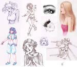 Random Sketches by FernandaNia